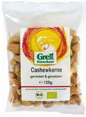 Cashewkerne geröstet & gesalzen, 125 g