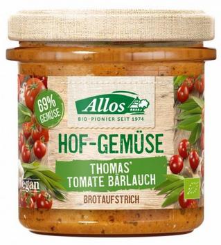 Brotaufstrich Tomate Bärlauch