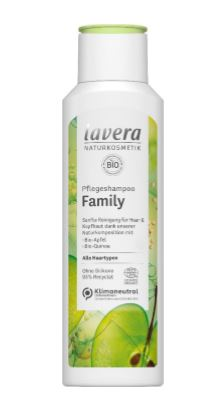 lavera Pflegeshampoo Family, 250 ml