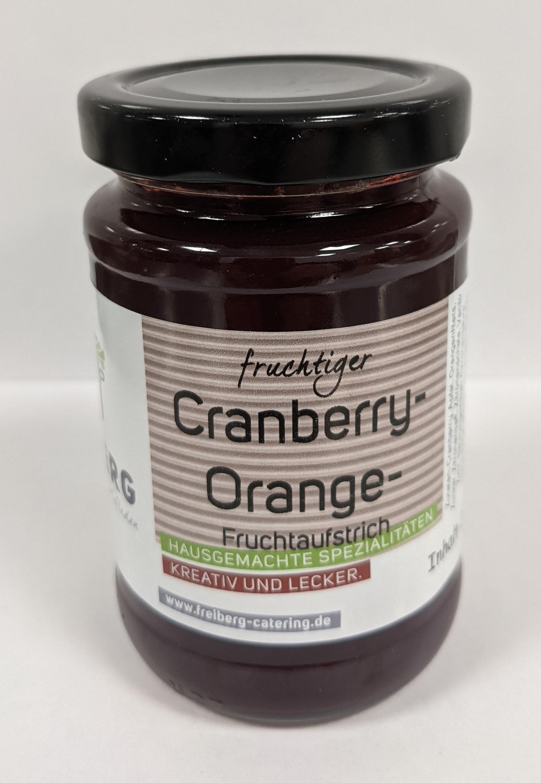 Fruchtaufstrich Cranbeery- Orange