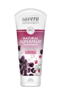 lavera NATURAL SUPERFRUIT Pflegedusche, 200 ml